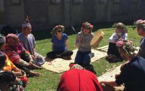 Ayahuasca ritual un día